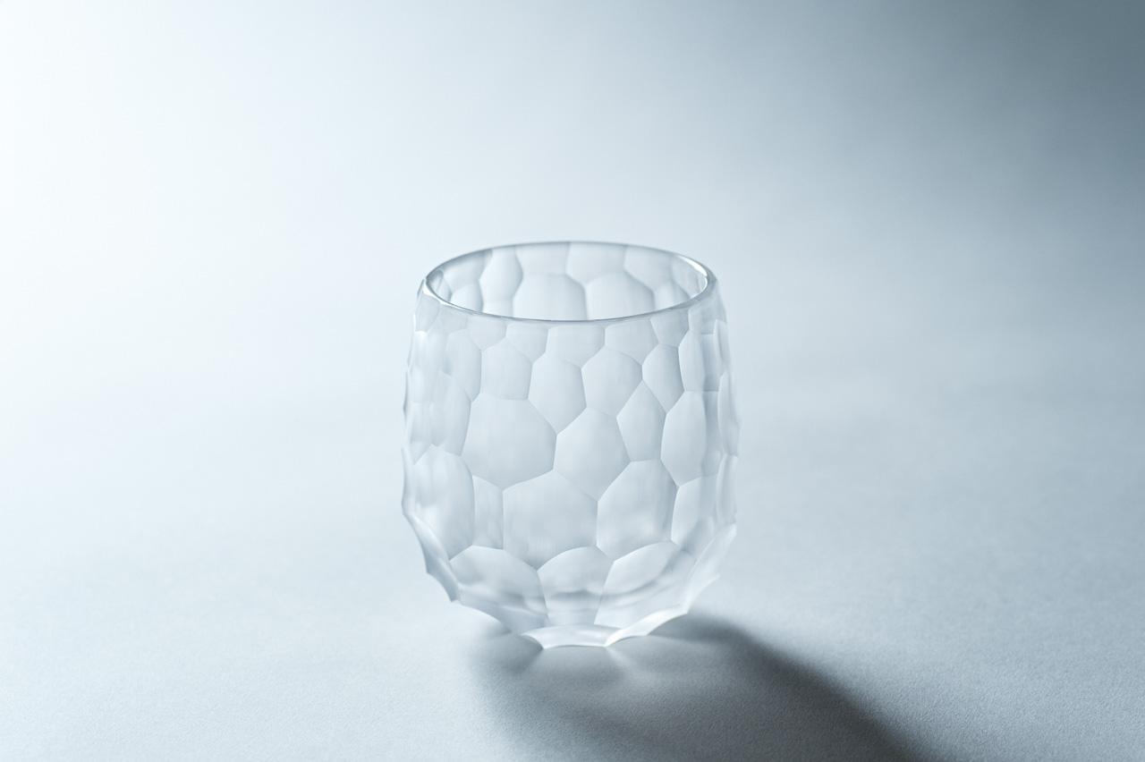 削紋ロックグラス/rock-glass