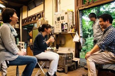 青樹舎硝子工房のガラス教室イメージ