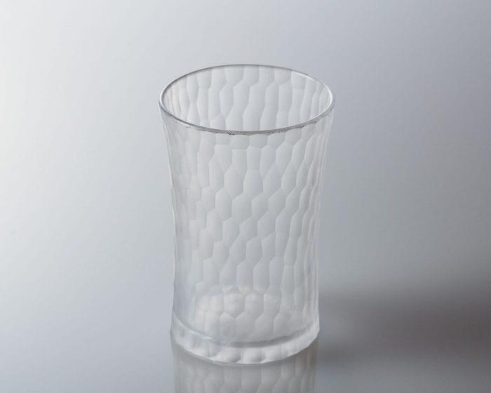 削紋ビアグラス