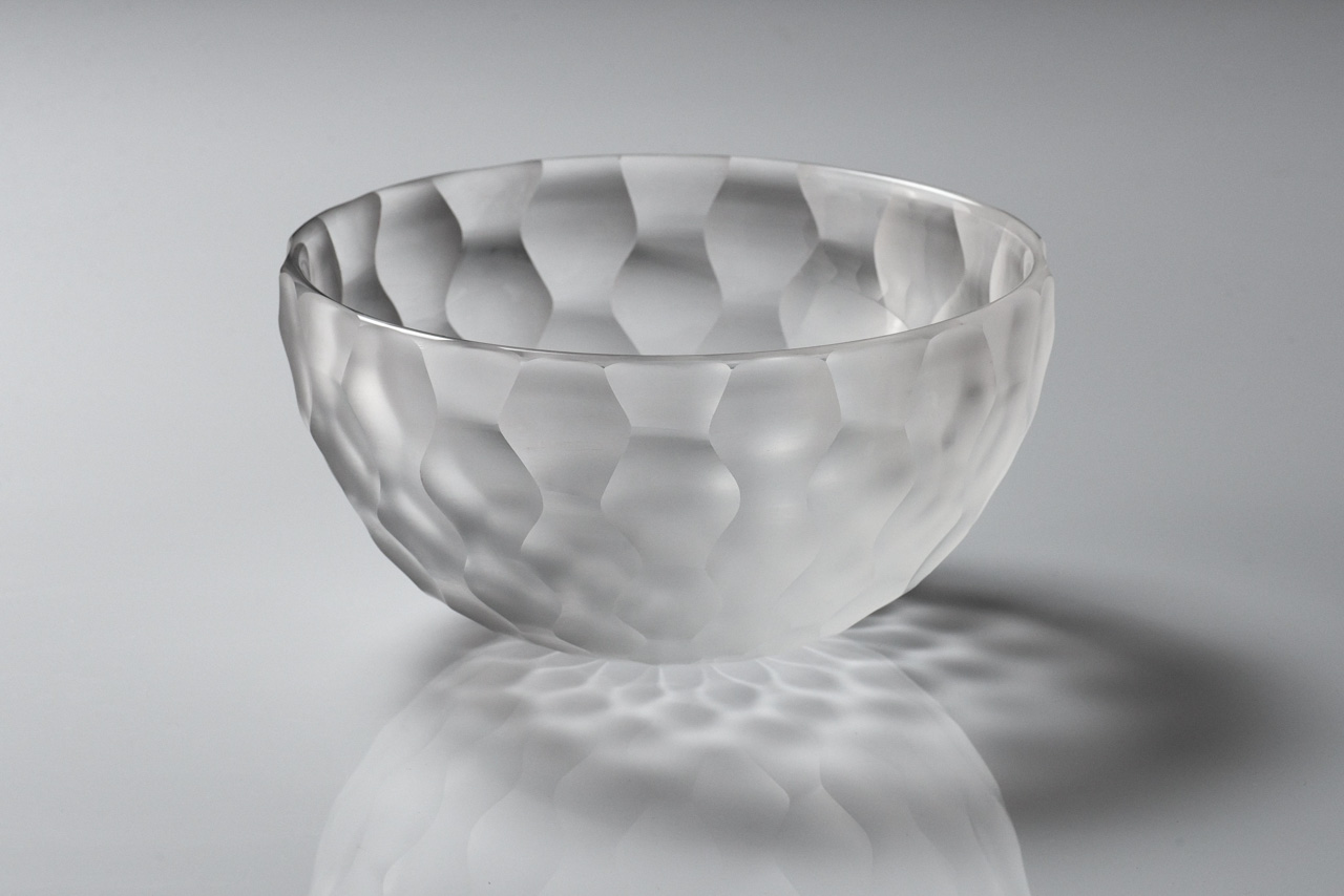 Yutaro Kijima's Glass Work - bowl