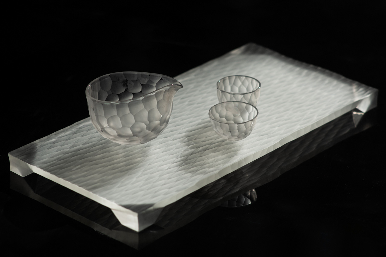 Yutaro Kijima's Glass Work - plate